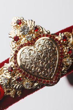 Ободок Patricia Bruni                                                                                                              красный цвет