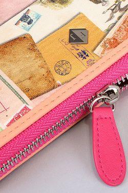 Кошелек Flioraj                                                                                                              розовый цвет