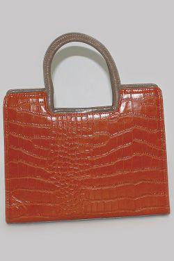 Сумка Nanni                                                                                                              оранжевый цвет