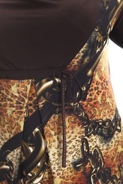 Платье Alain Murati                                                                                                              коричневый цвет