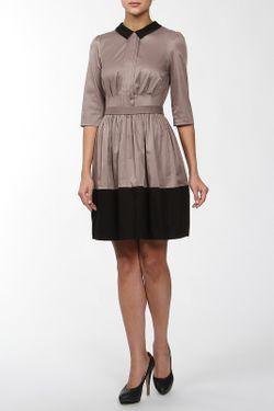 Платье JE SUIS                                                                                                              коричневый цвет