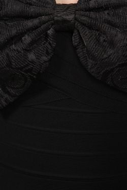 Платье С Бантом Erin Fetherston                                                                                                              чёрный цвет
