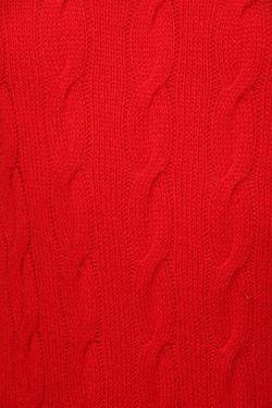 Пуловер Вязаный Ralph Lauren Purple                                                                                                              красный цвет