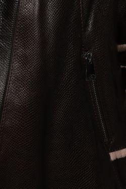 Дубленка Undo Exclusive                                                                                                              коричневый цвет