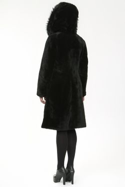 Дубленка Undo Exclusive                                                                                                              чёрный цвет
