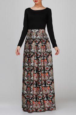 Платье FIFI LAKRES                                                                                                              чёрный цвет
