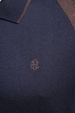 Джемпер-Поло Patrick Hellmann Collection                                                                                                              синий цвет
