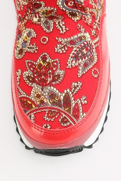 Сапоги Mon Ami                                                                                                              красный цвет