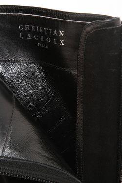Полусапоги Christian Lacroix                                                                                                              черный цвет