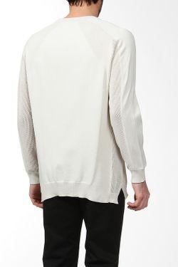 Пуловер Вязаный Alexander Wang                                                                                                              белый цвет