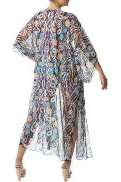 Халат Пляжный Charmante                                                                                                              многоцветный цвет