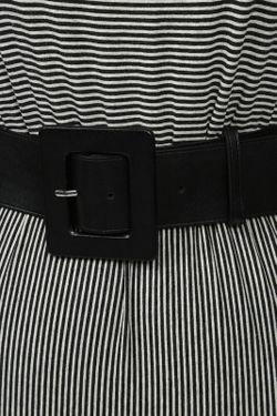 Платье Джерси С Поясом Alice + Olivia                                                                                                              серый цвет
