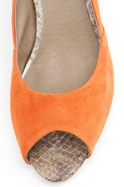 Туфли Летние Открытые Svetski                                                                                                              оранжевый цвет