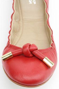Балетки Svetski                                                                                                              красный цвет
