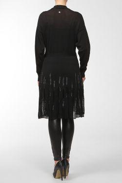 Кардиган С Поясом Roberto Cavalli                                                                                                              чёрный цвет