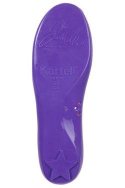 Балетки Kartell                                                                                                              фиолетовый цвет