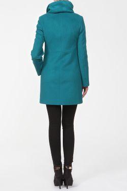 Пальто Анора                                                                                                              голубой цвет