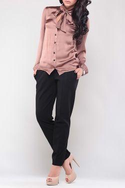 Блуза Laura Bettini                                                                                                              коричневый цвет