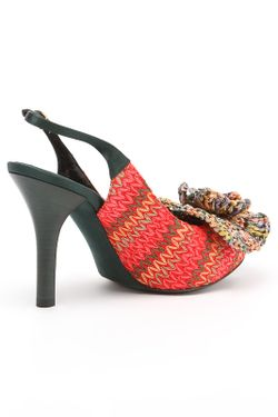 Босоножки Dolce & Gabbana                                                                                                              красный цвет