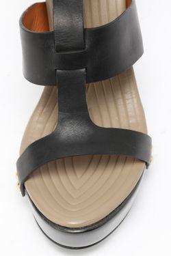 Босоножки Givenchy                                                                                                              чёрный цвет