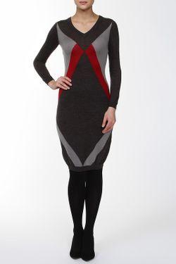Платье Русский Сезон                                                                                                              серый цвет