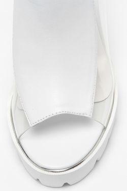 Сабо Zumita                                                                                                              белый цвет
