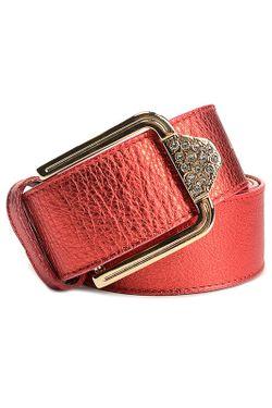Ремень Marina Creazioni                                                                                                              красный цвет