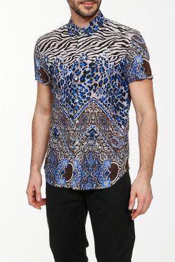 Рубашка Etro                                                                                                              многоцветный цвет
