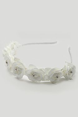 Ободок FRANSUA ARDY                                                                                                              белый цвет