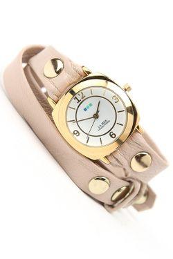 Часы Наручные La Mer Collections                                                                                                              бежевый цвет