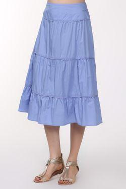 Юбка Finn Flare                                                                                                              голубой цвет