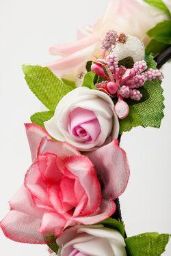 Ободок Beatrici                                                                                                              розовый цвет