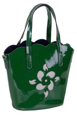 Сумка Baggini                                                                                                              зелёный цвет