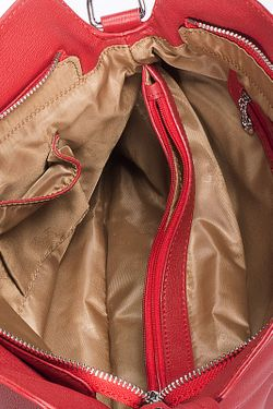 Сумка Baggini                                                                                                              красный цвет