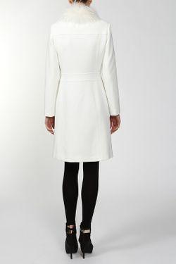Пальто С Мехом Blugirl                                                                                                              белый цвет