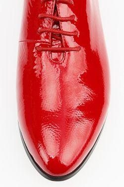 Полуботинки Milana                                                                                                              красный цвет