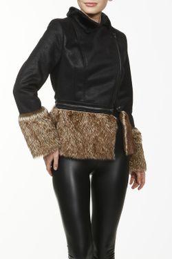 Куртка La Reine Blanche                                                                                                              чёрный цвет