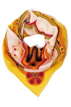 Платок Moltini                                                                                                              желтый цвет