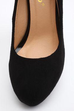 Туфли Stiletto                                                                                                              черный цвет