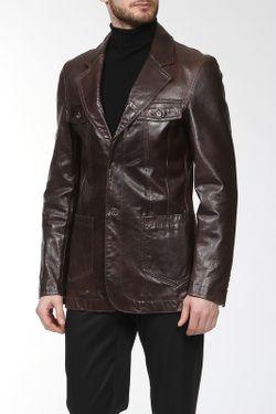 Жакет Versace Jeans Couture                                                                                                              коричневый цвет