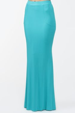 Юбка Blumarine                                                                                                              голубой цвет