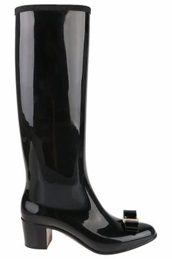 Сапоги Salvatore Ferragamo                                                                                                              чёрный цвет