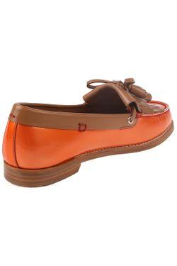 Мокасины Sergio Rossi                                                                                                              оранжевый цвет