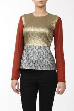 Блуза Stella Mccartney                                                                                                              многоцветный цвет
