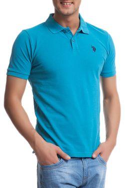Футболка U.S. Polo Assn.                                                                                                              голубой цвет