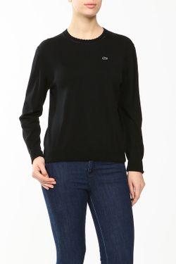 Пуловер Lacoste                                                                                                              черный цвет