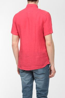 Рубашка Lacoste                                                                                                              красный цвет
