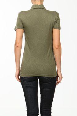 Поло Lacoste                                                                                                              зелёный цвет