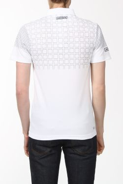 Поло Lacoste                                                                                                              белый цвет