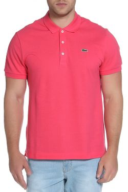 Поло Lacoste                                                                                                              розовый цвет